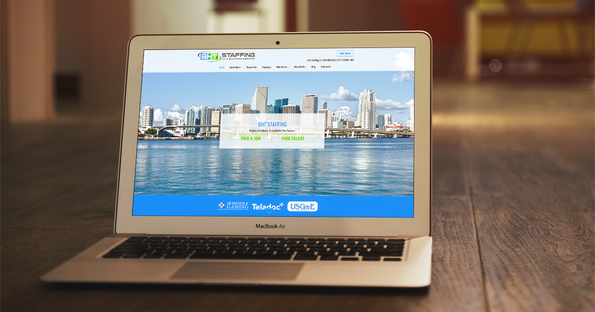 New Name, New Website: Check Out BHT Staffing's Impressive Makeover