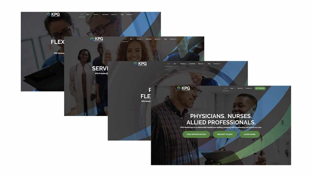 KPG Healthcare Creates New Websites For Physicians, Nurses, and Allied Professionals
